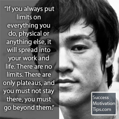 1 Bruce Lee Limits Quote Success Toro