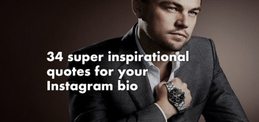 Inspirational Instagram bio quotes