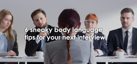 body language tips for interviews