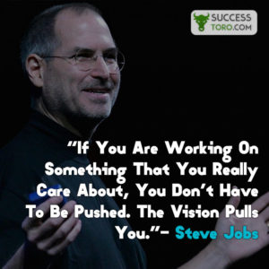 life proverb by Steve Jobs