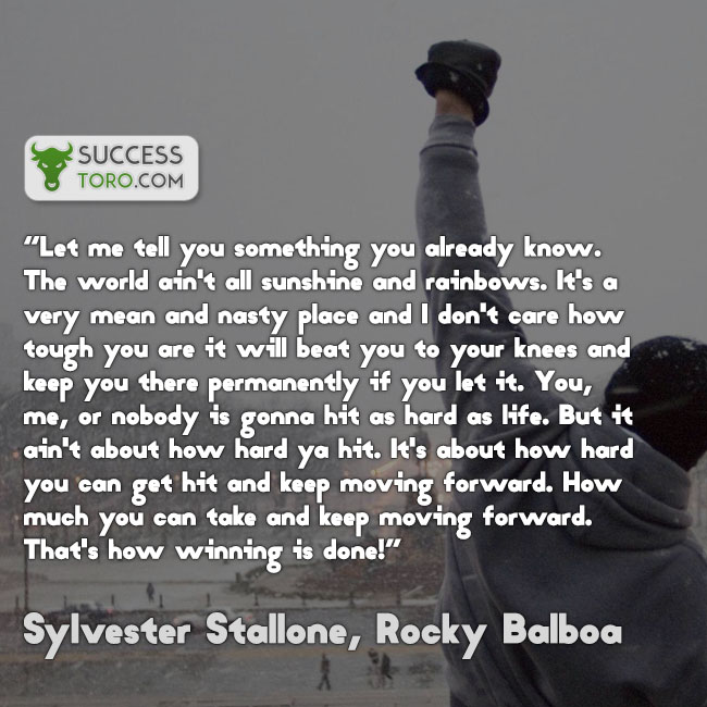 words of encouragement - rocky balboa