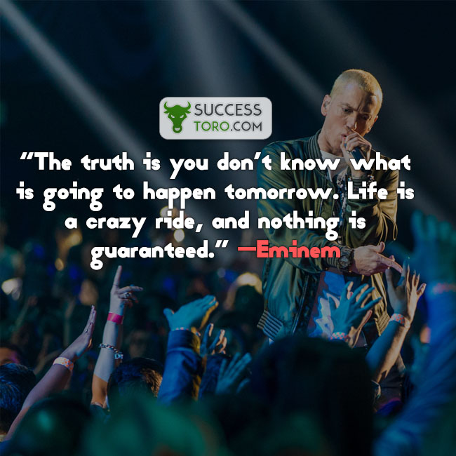 words of encouragement - eminem