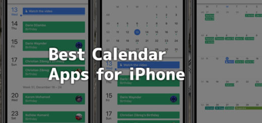 Best calendar app for iPhone