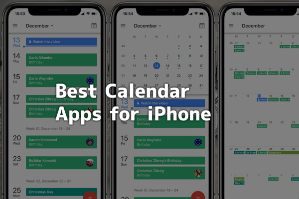 5 Best Calendar Apps For Iphone